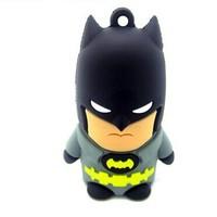 pendrive cartoon Bat man Iron man 8gb 16gb 32gb 64gb 128gb 256gb 512gb batman pen drive usb flash drive gift external storage