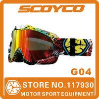 2014 Scoyco G04 ATV Cruiser Motorcycle Motocross Goggle Off-Road Dirt Bike Racing Eyewear Surfing Airsoft Paintball Game glasses