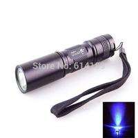 UltraFire C3 365nm UV LED Flashlight (1xAA/1x14500)