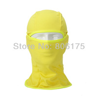 On sale Promotion new 2014 outdoor riding bike Yellow face mask cs speed dry windproof autumn worm head cover cap hat BALACLAVA