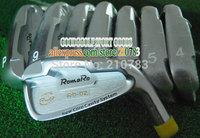 golf equipment New Golf Clubs RomaRo RD-02 golf irons Set 3-9.P golf irons set /Dynamic Gold R300 Steel shaft DHL Free Shipping