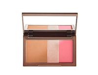 2014 New Arrival Naked Flushed Blush Palette,3 Colors Makeup Blusher Bronzer &Highlighter &Blush 3 in 1 Make up Pallete