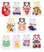8 pcs/lot wholesale fashion cotton t shirts child t shirt baby summer wear infant t-shirt boys t shirts kids Tees children vest