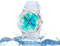 2014 new watch Wristwatches abstract patterns fashion watch women dress watches quartz watch + free shipping