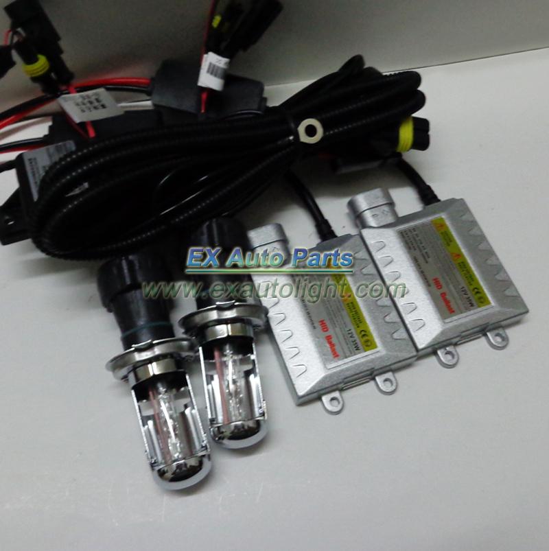 Free Shipping H4 Dual Beam HID Xenon Kit Auto Car H4 Bixenon hid conversion kit vehicle hid xenon headlight lamp 10sets/lot(China (Mainland))