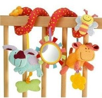 New MIC Elc multifunctional baby bed hanging car hanging newborn toy, Baby Rattles/baby mobiles 1pcs ha0002