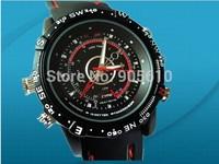 Hidden Camera 720 x 480AVI built-in 16GB Waterproof Watch 5PCS/LOT