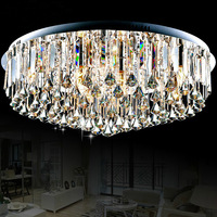 Free shipping,modern living room lamp crystal lighting led ceiling lamp luxury crystal lamp