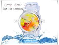 2014 new watch Wristwatches abstract patterns fashion watch women dress watches quartz watch + free shipping