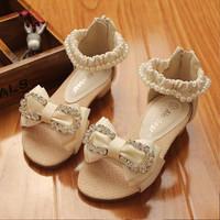 1 Pairs Children Sandals Shoes 2014 Summer Retail Kids Shoes