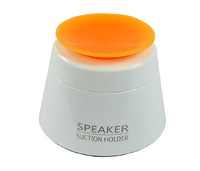 Foldable speaker Portabel travel speaker with sucker stand for all 3.5mm audio port audio devices good quality 20pcs