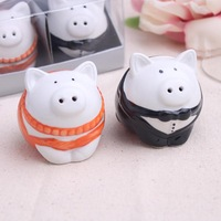 Wedding Favor European Favor Piggy Wedding cruet spice jar Practical Wedding Gifts 10 set/lot=20pcs pig /lot