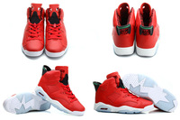 Free Shipping New Model Air Retro 6 VI MVP History of Infrared Men's Basketball Sport Footwear Sneakers Shoes
