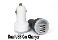 2-Ports 2.1A dual usb car charger adapter charging for apple iphone 5 5s 4 4s ipad 2 3 samsung galaxy S4 I9500 I9300 note 2 3