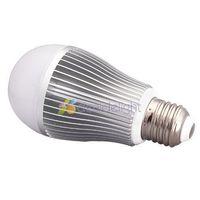 Free DHL shipping 10pcs 2.4G E27 6W RGB Full Color Dimmable WiFi Dimmable LED Ball Bulb Light Lamp 180 Lumen 86-265V Wholesale