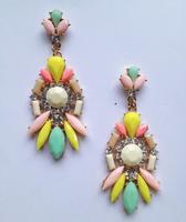 New 2014 fashion HOT women stud earrings bubble resin vintage korean Earrings for women jewelry wholesale