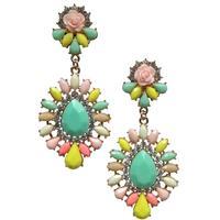 New 2014 stud earrings bubblu fashion korean shourouk earring crysta vintage statement Earrings for women jewelry wholesale