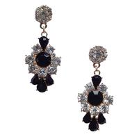 New 2014 fashion HOT women stud earrings shourouk earring bubble crystal vintage korean Earrings for women jewelry wholesale