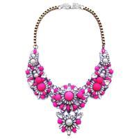 2014 Hot sale Wholesale choker bib shourouk necklaces & pendants fashion chunky disign statement pendant Necklace for women