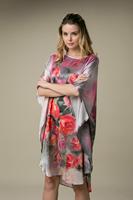 2014 New Summer Silk Pajamas  100% Silk Nightgown Free Size YBP023 - Free Shipping