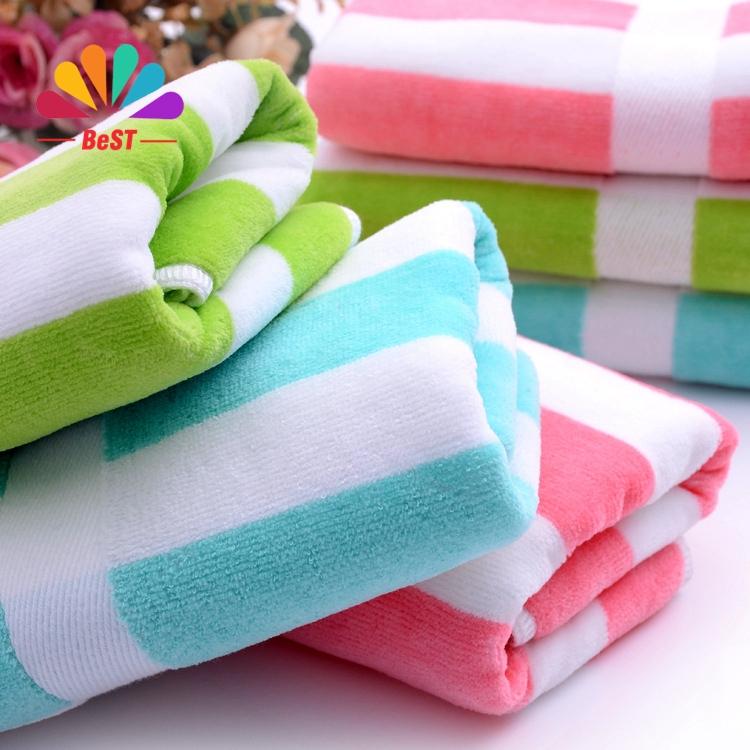 new 100% cotton soft Microfiber beach towel 4pcs a lot 34*75cm 100