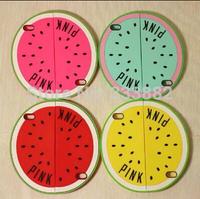 New Arrival Victoria/'s Pink Secret Unique Watermelon Silicone case For Iphone 5 5s 6 colors soft rubber cover NMY013