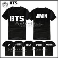 BTS bulletproof Cadet Bangtan Boys SUGA JIMIN JIN V t shirt long-sleeved T-shirt A