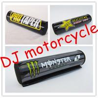 3 Pcs Universa Handle Bar Pad Mixed For Dirt Pit Pocket Bike   Off Road Motorcycle Chest Pad Protector Wholesale  1 lot=3 pcs
