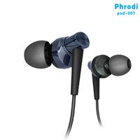 Phrodi POD-007 high-qaulity A+++ headset in-ear headphones Stereo bass subwoofer earphone for mp3  MP4 phone