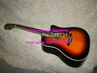 Wholesale -Guitars Honey Burst Acoustic Guitar High Quality Musical instruments HOT