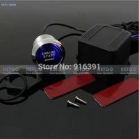 1pcs Universal LED Illumination Auto Car Keyless Engine Starter Ignition Push Start Button Switch