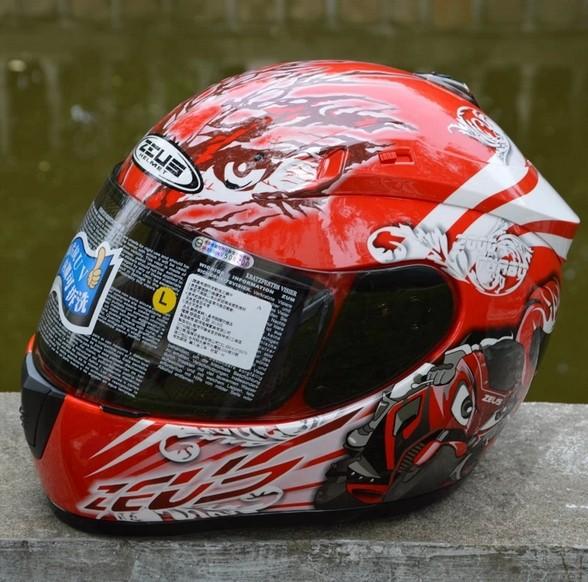 Free shipping Taiwan lions ZS 2000A helmet motorcycle helmet racing helmet sports helmets