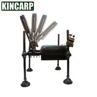 Viraemia portable fishing chair multifunctional folding fishing chair fishing box taiwan seat pallet fishing rod holder umbrella