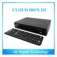 IN STOCK 2pcs cloud ibox 3 twin HD DVB-S2 with Hybrid DVB-T2/T/C tuner best iptv set top box smart tv box