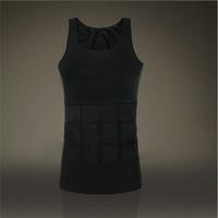 50pcs bodysuit men 2014 with color box Good  Slimming Vest Shirt Fatty Undershirt Corset Body Shaper  Weskit Undershirt