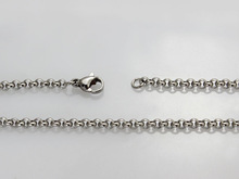 10pcs wholesale lot popcoorn link chain necklace stainless steel metal jewlery