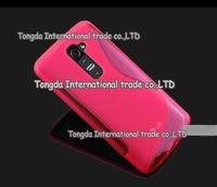 High Quality Black Soft TPU Gel S line Skin Cover Case For LG Optimus G2 Mini D618 D620 Free Shipping FEDEX DHL EMS CPAM SGPAM