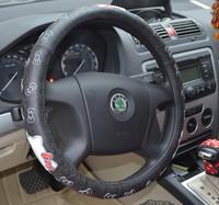 Environmental protection cartoon hello kitty steering wheel cover free shipping