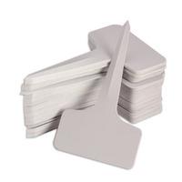 100pcs 6 x10cm Plastic Plant T-type Pot Tags Markers Nursery Garden Plastic Stake Labels