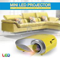 NEW RD-802 Mini LED Projector With HDMI AV/VGA/SD/USB/TV Digital Projectors projetor de imagem Home Theater P0014767 Free Ship