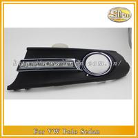 LOW  Price For VW Volkswagen Polo Sedan High profile 2011-2013 LED DRL,LED Daytime Running Light, Free Shipping!