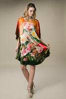 Genuine 100% Silk Nightgown Summer Silk Pajamas Free Size YBP00301- Free Shipping
