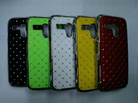 10pcs/lot Free shipping New Luxury Bling Diamond Crystal Star Hard Case Cover for MOTOROLA MOTO G