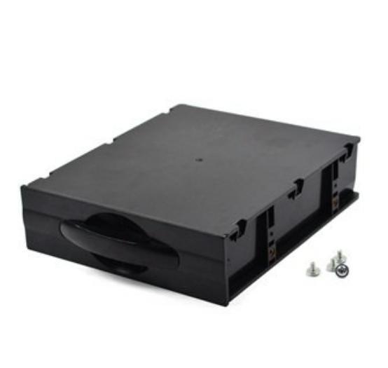 """Computador desktop ATX / MATX disco rígido móvel em branco rack de armazenamento bandeja gaveta caso / caixa ( 5,25 """") Preto(China (Mainland))"""