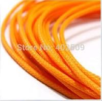 Factory wholesale 200m/Lot orange 2mm expandable PET braiding expandable sleeve