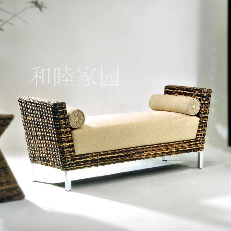 New Listing Special rattan cane rattan sofa rattan sofa bed living room sofa fabric folding(China (Mainland))