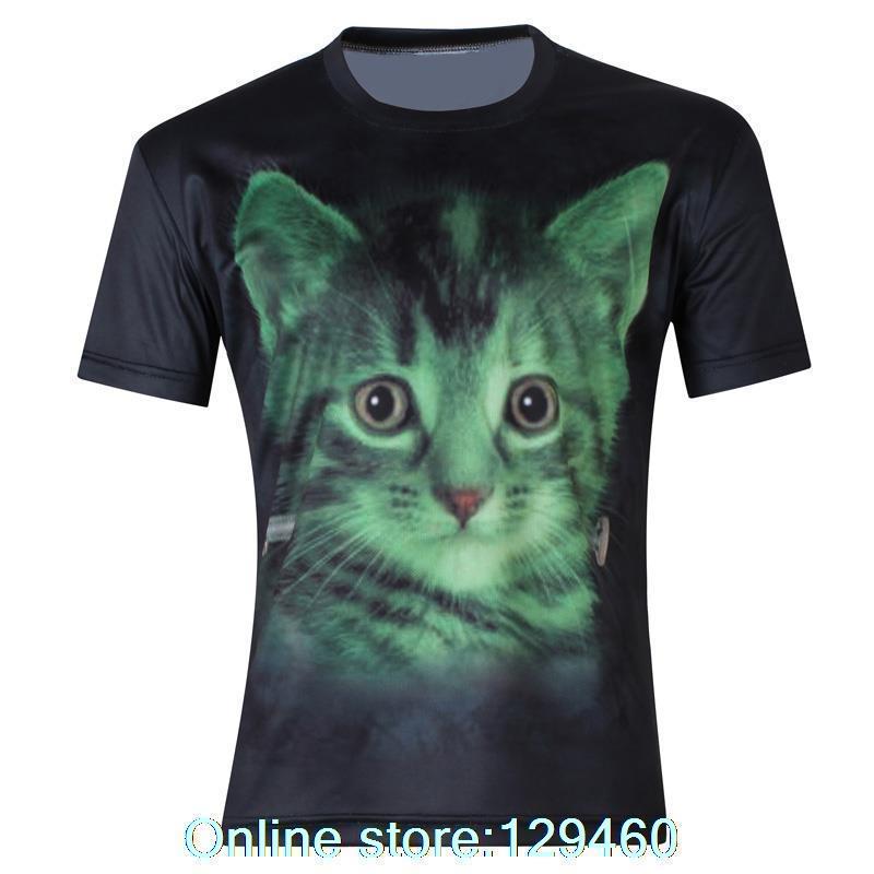 Cat Face t Shirts Shirts Animal Cat Face 3d