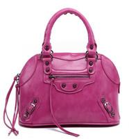 2014 spring and summer vintage tassel Small motorcycle bag candy color handbag one shoulder women's handbag shell bag star