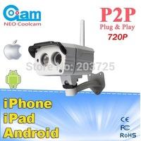 Neo coolcam Waterproof Outdoor HD 720P Wifi IP Camera Wireless P2P Plug Play IR Cut Night Vision Onvif 2.0