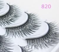 Fashion Crisscross False Eyelashes with shimmering powder The marriage of eyelashes Makeup 820